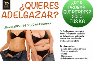 cartel dieta Horizontal